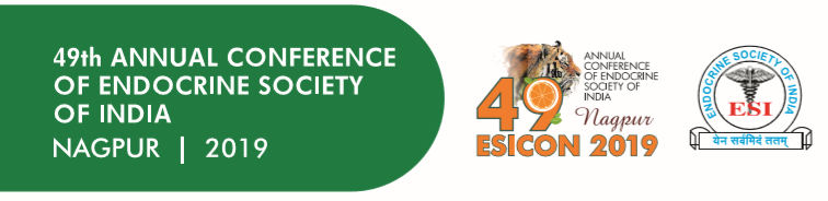 49 Annual Conference of Endocrine Society of India, 21st -24th November 2019, Nagpur (ESICON 2019)