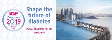 International Diabetes Federation Congress 2019, Busan, Korea, 2nd-6th December 2019 (IDF 2019)