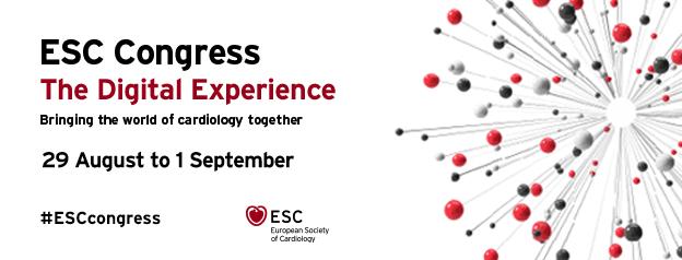 ESC Congress 2020 – The Digital Experience – 29 Aug 2020 – 2 Sep 2020 Day 4