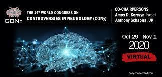 CONy 2020 Virtual Meeting Oct 29 – Nov 1, 2020